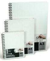 Reeves Hardback Cover Sketch Book - Spiral Bound - Canvas Covered - A5