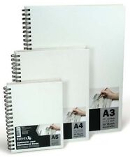 Reeves Hardback Cover Sketch Book - Spiral Bound - Canvas Covered - A3