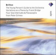 Britten: The Young Person's Guide to the Orchestra; Four Sea Interludes, New Mus