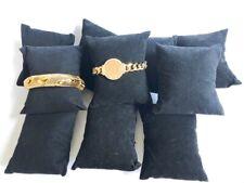 10pc Black Pillow Jewelry Display Holder Cushion Bracelet Watch Bangle Displays