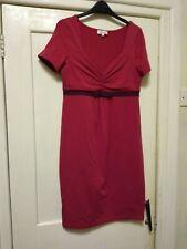 Next Red Maternity Dress Size 12