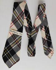 MacPherson Dress tartan tie BOYS Scottish clan wool plaid necktie UNUSED VINTAGE