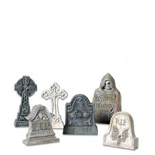 Dept 56 Halloween Village Tombstones #53065 New Free Shipping Offer