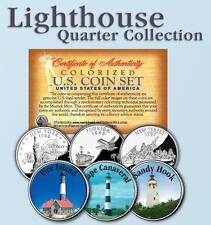 Historic LIGHTHOUSE State Quarter 3-Coin Set #5