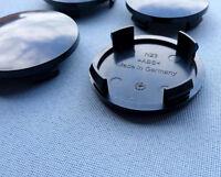 4x Nabenkappen Nabendeckel Felgendeckel Träger 60,0 mm 56,0 mm schwarz  N23 S