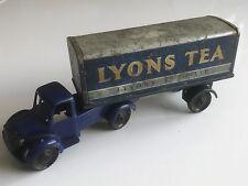 "1950/60s - Vintage Wells brimtoy-BEDFORD Van articolato in ""LYONS TEA"" livrea"
