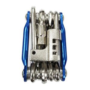 Bicycle Chain Multi-function Bike Portable Breaker Tool Repair Kit Extractor