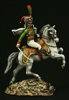 Tin soldier, Museum (TOP), Officer of the Imperial Guard 54 mm, Napoleonic Wars