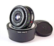 50 mm  f 3.5 INDUSTAR  50 - 2  Lens Copy Tessar m42 + adapter Micro M4/3