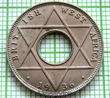 BRITISH WEST AFRICA GEORGE V 1936 1/10 PENNY