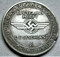 1935 GERMAN COMMEMORATIVE WW2 COLLECTORS REICHSMARK COIN DRESDEN