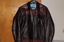 Aero Dustbowl, size 40, Vicenza Italian Horsehide Leather Jacket EUC