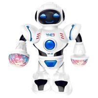 Inteligente Mini Robot Fun Robot Dancing Robot Toy Led Light Music Hyun Dan R6M8