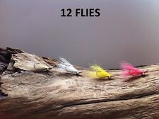 Bonefish Fly Crazy Charlie 12 Flies Mustad 34007 # 4, # 6 permit,redfish,trout,