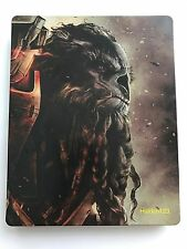 Halo Wars 2 Exclusive Australian Atriox Steelbook BRAND NEW