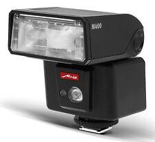 Metz mecablitz M400 Systemblitzgerät für Sony inkl.4x AA Batterien **