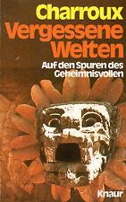 Vergessene Welten - Buch von Robert Charroux - Knaur TB