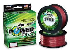POWER PRO DYNEMA TRECCIATO RED ROSSO 275 MT   0,13mm tenuta 8kg .