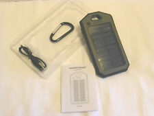 Portable Solar Panel Charger Carabiner Flashlight USB Cable New Marlboro Promo