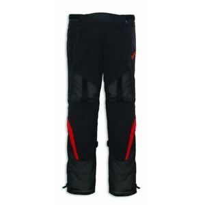 Ducati Spidi Buzzer 2 Tex Trousers Summer Textil Pants Black Red New