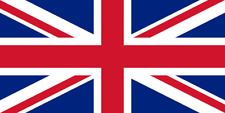 GB Great Britain Union Jack UK Country Flag Iron On T-Shirt Transfer A5