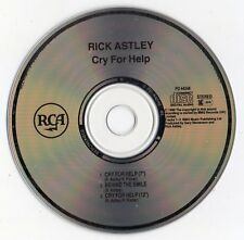 """RICK ASTLEY """"CRY FOR HELP"""" ULTRA RARE UK CD MAXI / NEW BUT NOT SEALED"""
