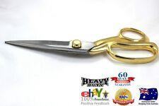 "10""Gold Plated Handle 60 Days Warranty Heavy Duty Tailor Scissor, Sewing Scissor"