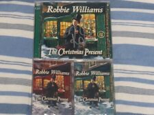 Robbie Williams The Christmas Present SIGNED CD & Cassette Bundle