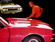 1967 CHEVY CAMARO SS 350 ORIGINAL AD *rs/z28/door/hood/hinges/windshield/emblem