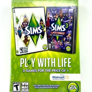 The Sims 3 & The Sims 3 Late Night Bundle: PC/Mac [Brand New]