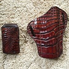 ALLIGATOR HOLSTER FOR 1911 Kimber, Colt, Springfield, Sig Sauer, MAY SALE!