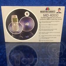 ►MARTIN DAWES MD 4000◄ 1°CORDLESS CON SENSORE ANTIFURTO, SMS, INVIO EMAIL E FAX