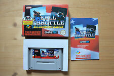 SNES - Full Throttle: All-American Racing - (OVP, mit Anleitung)