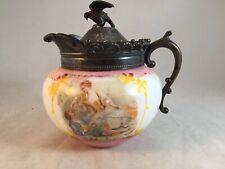 New ListingVintage Porcelain Transferware Vanity Jewelry Trinket Box F. Boucher