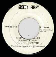 """HUGH GRIFFITHS-step it in ballet   greedy puppy 7""""    (hear)    reggae"""