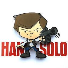 Star Wars 3D FX Deco LED Luce di notte Parete Mini Han Solo Lampada  Regalo