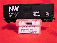 KD 24030-4 NORFOLK & WESTERN 40' Box Car w/o RW  #391331 'MINT' N-SCALE