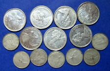 SILVER SCRAP 1968  ELIZABETH II Canada 25 & 10 CENT Silver  COINS LOT OF 14