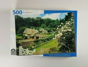 New - Buckland England Jigsaw Puzzle 500 Pieces The Silver Series Crown Puzzles