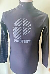 Protest Men's L/S Rash Guard SPF/UPF50+ sizes S & XL New with tags was £25😎