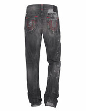 NEW True Religion GENO SUPER T Jeans size 32 $379 DEEP BASE DESTROYED