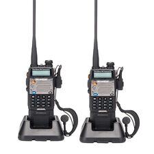 2x Baofeng Walkie Talkie UV-5XP 8W 65-108MHz VHF/UHF Two-Way Radio Free Earphone
