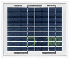 Placa solar 5W 12V modulo fotovoltaico barco autocaravana socorro solar panel