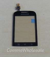 Genuine Samsung Galaxy Chat GT-B5330 Touch Screen Glass Digitizer Black - NEW
