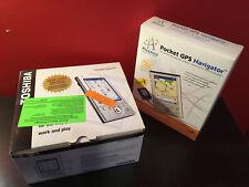 Toshiba e335 Handheld Pocket Pc Pda w/Ori Box & Accessories w/navigator kit