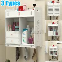 White Bathroom Furniture Range Cabinet Under Sink Storage Cupboard  NEW
