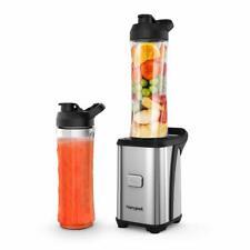 Blender Smoothie Maker, Personal Mini Blender with 2 600ml Portable Bottles incl