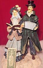 Huge Christmas Caroler's Figurine