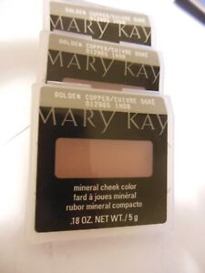 Mary Kay Mineral Cheek Color ** GOLDEN COPPER ** Lot-of-4 -** Free Shipping