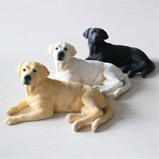 Labrador retriever Dog Pet Figure Animal Model Collector Decor Toy Kid Xmas Gift